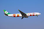 B-16332 - EVA Airways - Airbus A330-302X - Hello Kitty Loves Apples Livery - SHA (16990619728).jpg