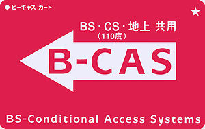 Wowow - B-CAS conditional access card