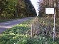 B4494 looking north as the road passes through woodlands near Lockinge Kiln farm. - geograph.org.uk - 1250083.jpg