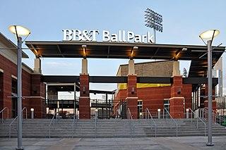 Truist Field Baseball stadium in Charlotte, North Carolina