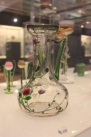 Bohemian glass - Image: BLW Bohemian Jug