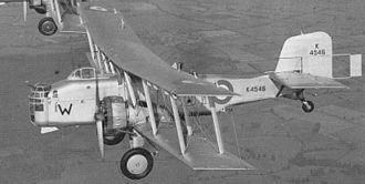 Boulton & Paul Ltd - Boulton Paul Overstrand bomber