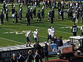 BYU Entering Field, Nevada Wolf Pack vs. Brigham Young Cougars, Mackay Stadium, University of Nevada, Reno, Nevada (11142110866).jpg