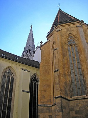 Franciscan Church, Bratislava - Image: Ba Franciscan church chapel