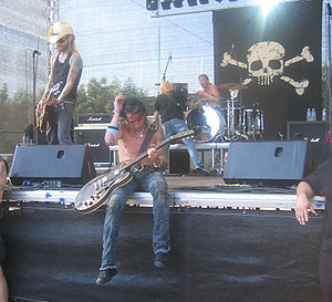 Backyard Babies - Backyard Babies in the Vainstream Festival 2006 in Münster.