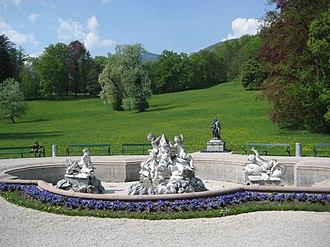 Kaiservilla - Image: Bad Ischl Kaiservilla 2