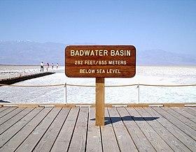 Image illustrative de l'article Badwater