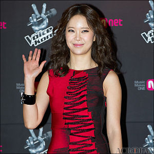 Mnet Asian Music Award for Best OST - Image: Baek Ji yeong from acrofan