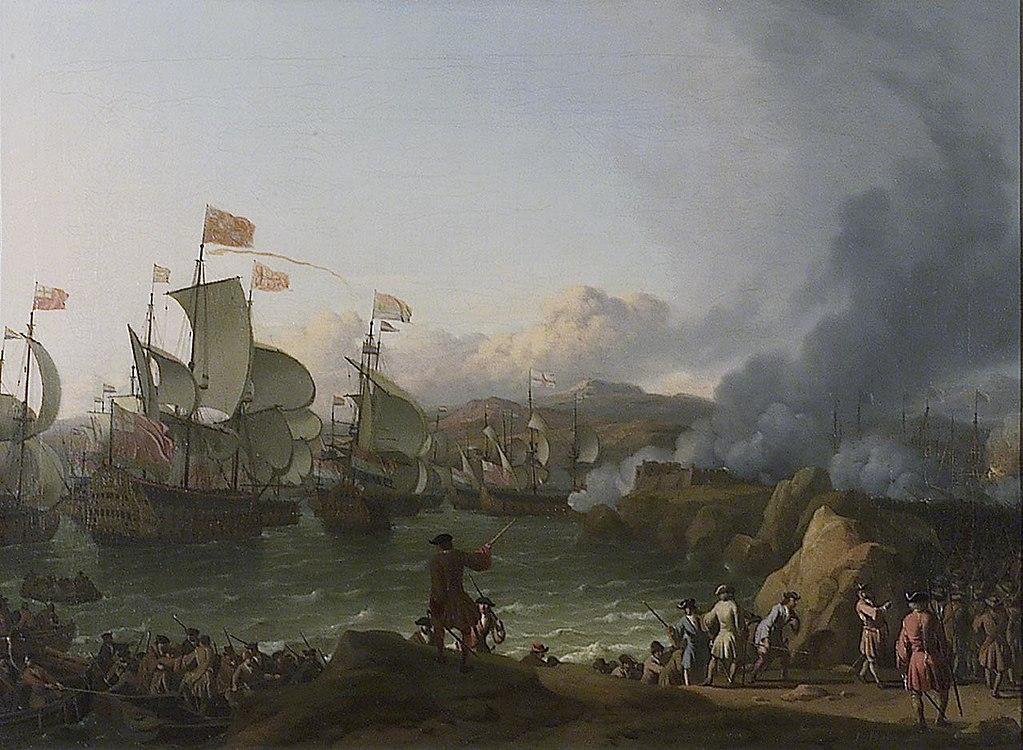 Bakhuizen, Battle of Vigo Bay