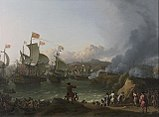 The Battle of Vigo Bay, 12 October 1702