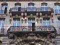 Balcons et mascarons de l'ancienne Strassburger Bank.jpg