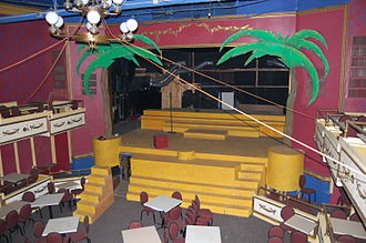 Goldenrod (showboat) - Balcony to stage
