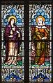 Ballina St. Muredach's Cathedral North Aisle Window 01 Maria Magdalena and Mater Dolorosa 2013 09 14.jpg