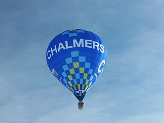 Chalmers Ballong Corps - One of CBC's balloons