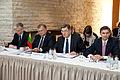 Baltijas Ministru padomes neformālajā darba sesijā tiekas Latvijas, Lietuvas un Igaunijas premjerministri (8888428646).jpg