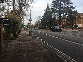 Banbury Road - Image: Banbury Road (Linton Road junction)