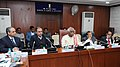 Bandaru Dattatreya addressing at the signing ceremony of MoUs with strategic partners under National Career Service (NCS) - Partnership Policy, in New Delhi. The Secretary, Ministry of Labour and Employment.jpg
