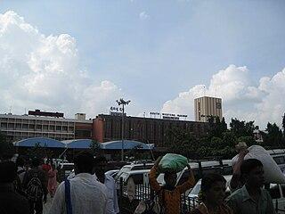 Bangalore City railway station Railway station in Bangalore, India