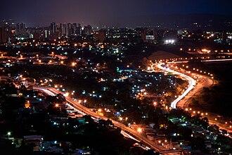 Barquisimeto - Barquisimeto at night.
