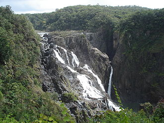 Barron River (Queensland) - The Barron Falls near Kuranda