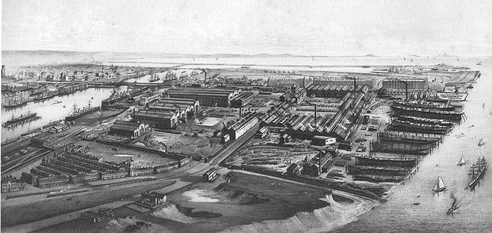 Barrow Works 1890