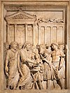 Bas relief from Arch of Marcus Aurelius showing sacrifice