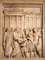 Bas relief from Arch of Marcus Aurelius showing sacrifice.jpg