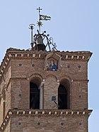 Basilique Santa Maria in Trastevere campanile Vierge