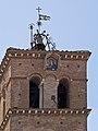 Basilique Santa Maria in Trastevere campanile Vierge.jpg