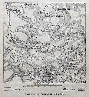 Battle of Beaumont battle
