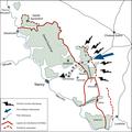 Bataille du Grand couronné de Nancy, détail attaque allemande.png