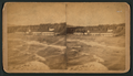 Bath House and Beach, Santa Monica, from Robert N. Dennis collection of stereoscopic views.png