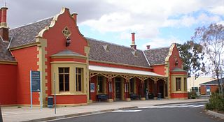 Bathurst railway station, New South Wales