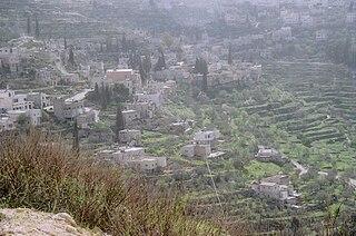 Battir Municipality type C in Bethlehem, Palestine