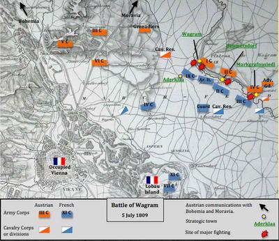 Battle Of Wagram Wikipedia