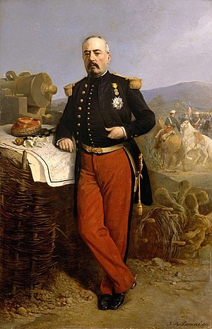 Army of the Rhine (1870) - Commander of the Army, Marshal Bazaine