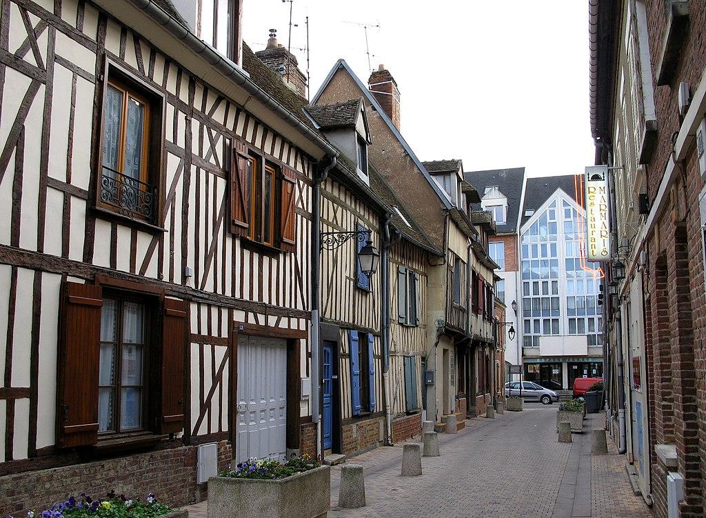 File beauvais rue d 39 alsace anciennes maisons wikimedia commons - Photos maisons anciennes ...