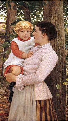 Beckwith James Carroll Mother and Child