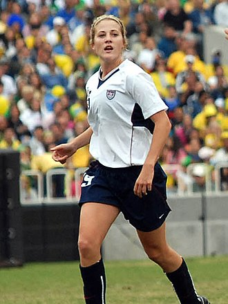 Becky Edwards (soccer) - Edwards at the 2007 Pan American Games