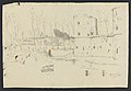 Beersel (château - croquis avec annotations) 1908 drawing by Jean-François Taelemans, R-2009-26336, Prints Department, Royal Library of Belgium.jpg