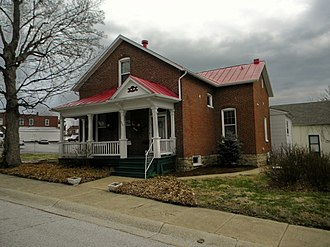 National Register of Historic Places listings in Franklin County, Missouri - Image: Beinke House