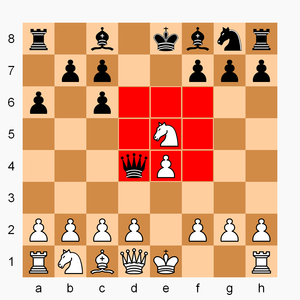 Beirut Chess - Image: Beirut Chess example