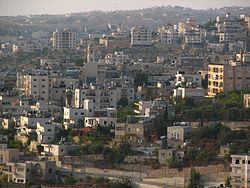 View of Beit Jala from Gilo