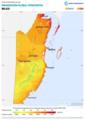 Belize GHI Solar-resource-map lang-ES GlobalSolarAtlas World-Bank-Esmap-Solargis.png