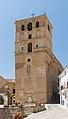 Bell tower, Iglesia de la Encarnacion, Alhama de Granada, Andalusia, Spain.jpg