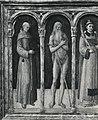 Bellini - San Bernardino da Siena, Sant'Onofrio, Santo Stefano, San Bartolomeo, San Lorenzo, San Sebastiano, Santa Caterina, 61824 gw.jpg