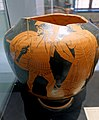 Belly amphora fragment with Hector and Priamos, Kleophrades Painter, Attic, c. 480 BC, L 508 - Martin von Wagner Museum - Würzburg, Germany - DSC05453.jpg