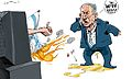Benjamin Netanyahu after thousands Protested In Front Of Israels Embassy In Cairo.jpg