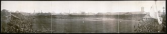 Bennett Park (Detroit) - World Series baseball game at Bennett Park on October 11, 1909.