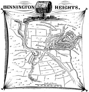 Bennington, Vermont - Battle of Bennington Heights, August 16, 1777